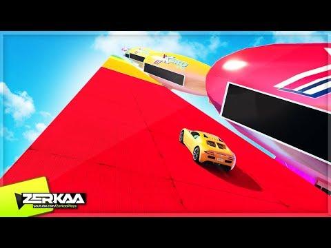 RAINBOW RAMP IN THE SKY! (GTA 5)
