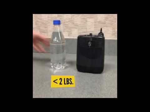 AirSep Focus - World's Smallest Portable Oxygen Concentrator