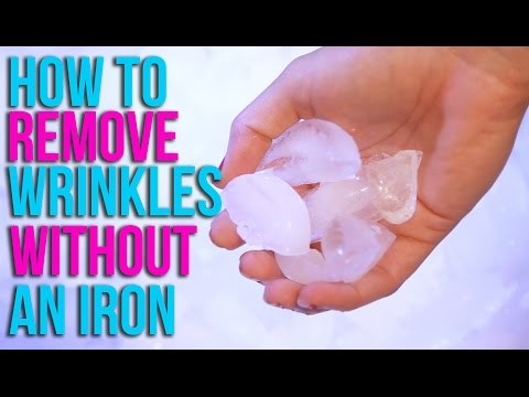 How to Remove Wrinkles Without An Iron