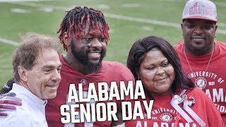 Nick Saban honors Alabama