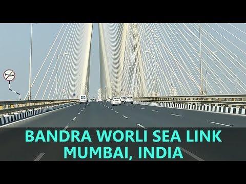 Bandra Worli Sea Link, Mumbai | Full Ride HD Video | Tourist Attraction