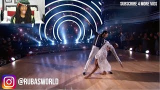 Normani and Val's Quickstep - Dancing with the Stars