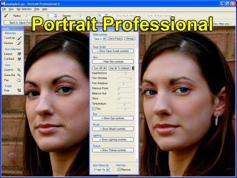 Portrait Professional 10/11 Tutorial & Review! -Best Face Image Software
