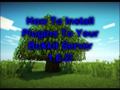 Minecraft: How To Install Plugins On A Bukkit Server 1.6.2!