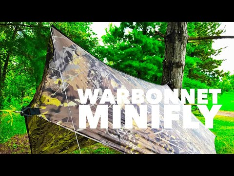 Warbonnet Minifly: Ultralight backpacking tarp