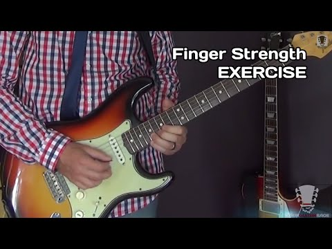 Finger Strength Exercise for Guitar and Your Pinky Finger
