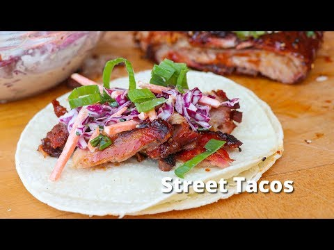 Street Tacos | Asian Inspired Street Tacos on Grilla Grills