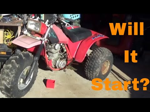 Honda ATC 200X to 200S Revival, Will This Long Neglected ATV Start?