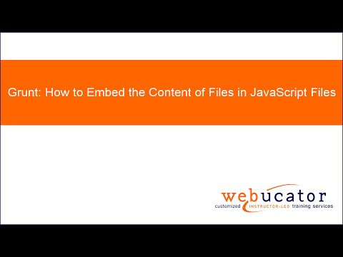 Grunt - How to Embed the Content of Files in JavaScript Files