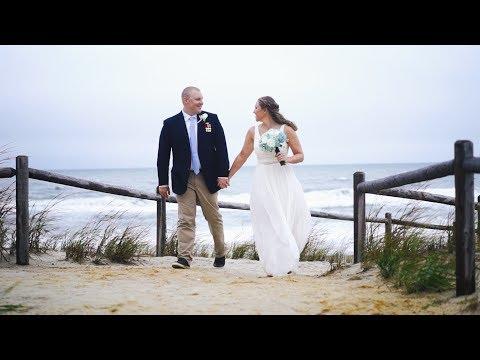 Martha and Alan: Wedding Film at Surf City Yacht Club in Long Beach Island, NJ