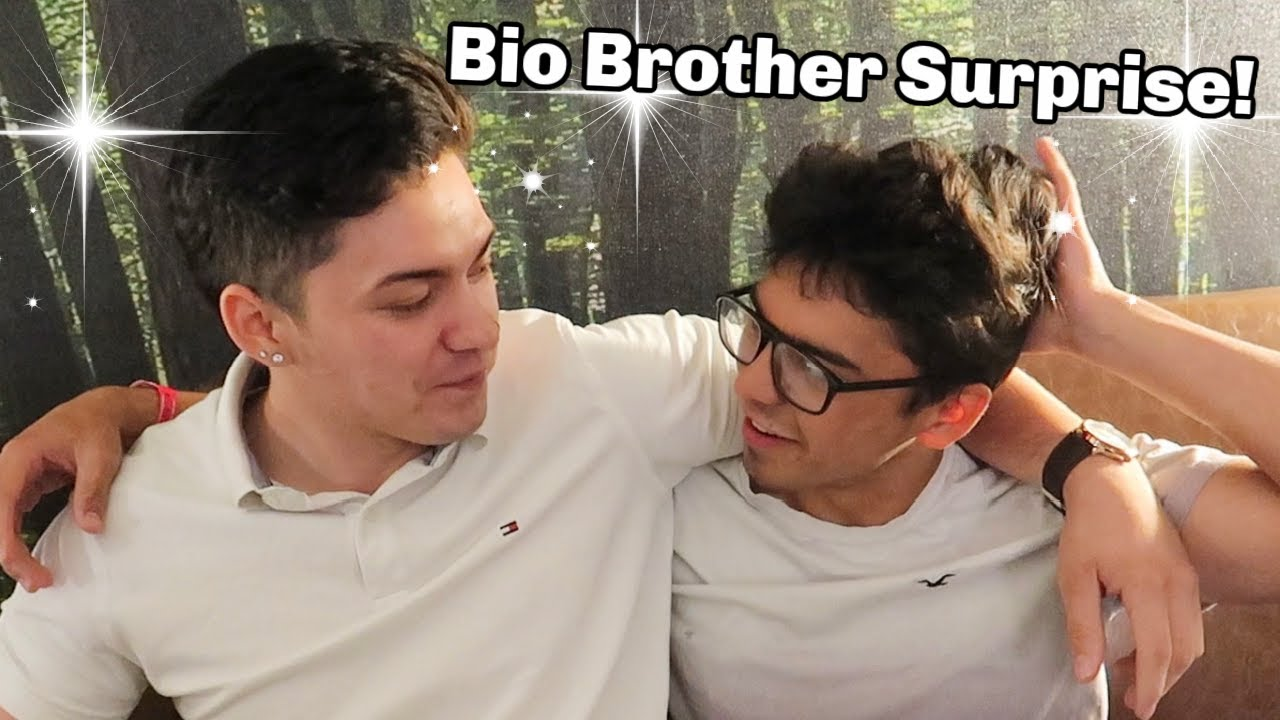 Biological Brother SURPRISE! | Brothers Reunited