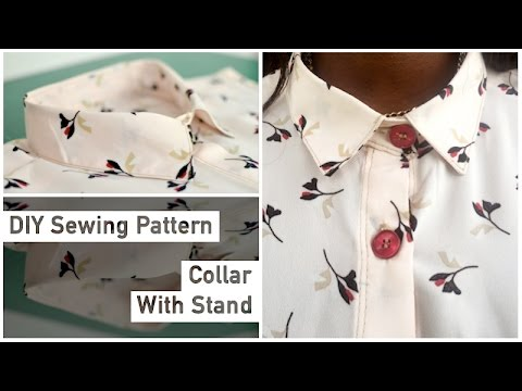 Pattern Drafting Tutorial - Collar with Stand • Elewa
