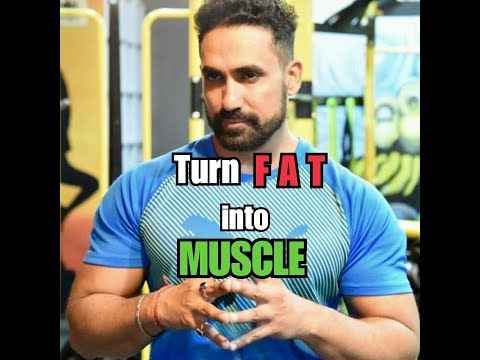 Can you Convert Fat into MUSCLE? See Change Fitness