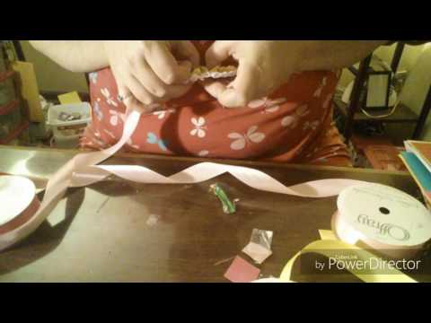Ribbon Rosette Tutorial Part 3