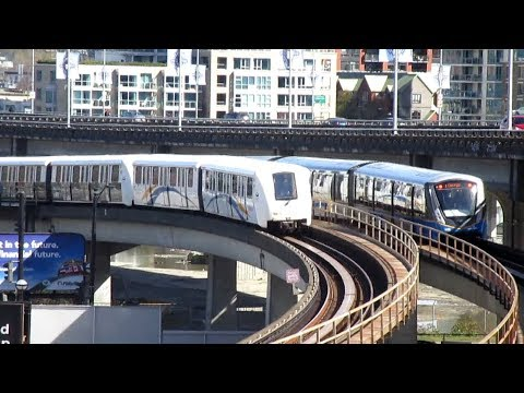Vancouver Skytrain and Canada Line In Action III - Apr. / May. 2018