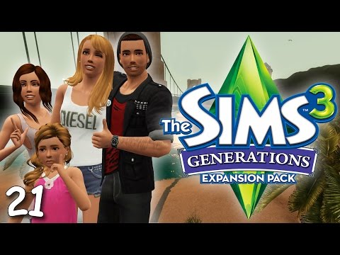 Let's Play: The Sims 3 Generations - (Part 21) - Pregnant, Birthday Party Fire, & Alien Abduction!