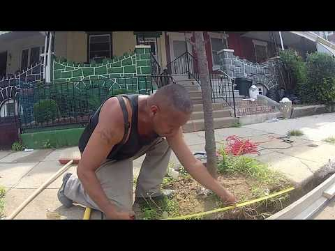 How to pour a small Concrete Curb | Concrete and Cement Contractor