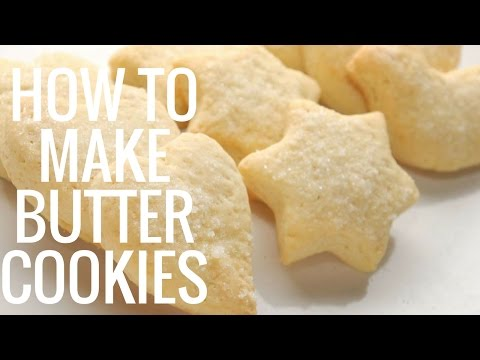 How to Make Butter Cookies at Home Best Way to Make Butter Cookies at Home