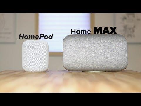 HomePod vs Google Home Max | High-End Smart Speaker Comparison