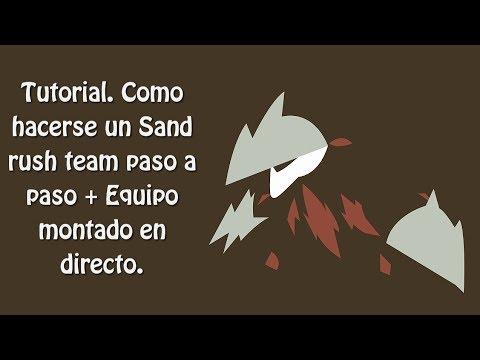 Tutorial. Como hacerse un Sand rush team paso a paso + Equipo montado en directo.