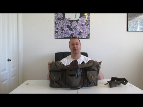 Gear Review: Aidonger Canvas and Leather Travel Bag