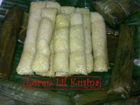 Suman Malagkit Filipino Kakanin - rice cake