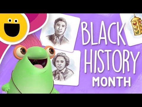 Marvie Celebrates Black History Month (Sesame Studios)