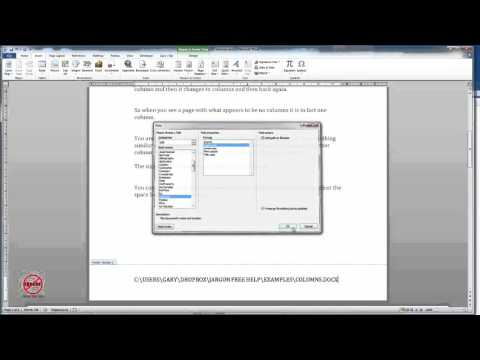 Displaying the Filename in Word