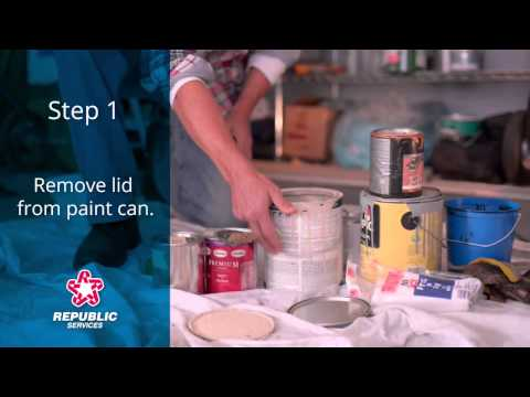 How to Dispose of Household Paint - Republic Services