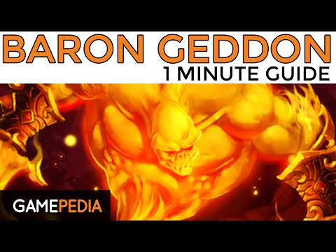 Hearthstone: Heroic Baron Geddon - 1 Minute Guide - Gamepedia