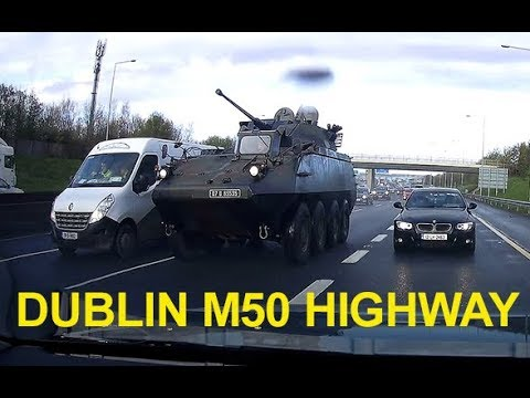 A Street Guardian (APC), captured on Street Guardian. (Ireland, Dublin, M50 Highway)