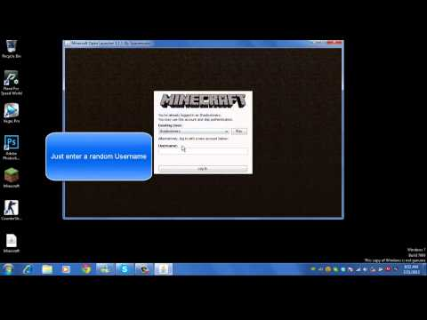 Minecraft 1.8+ Cracked Launcher[Free Download]