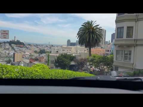 Lombard street San Francisco 2017