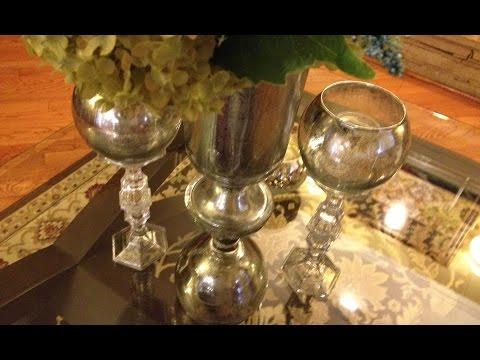 Make Unique Faux Mercury Glass Pieces - Ep3 part1