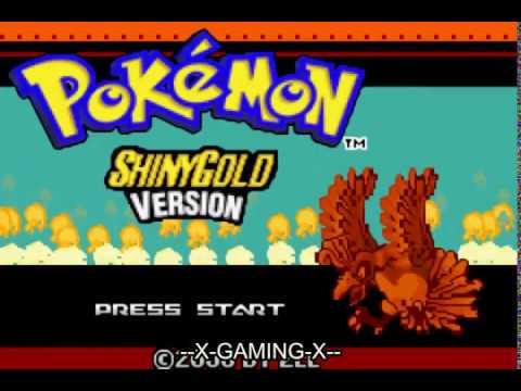 Pokemon Shiny Gold (GBA) GAMEPLAY