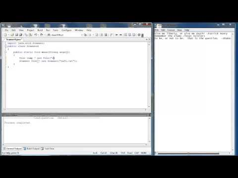 Scanner Class 3 Part 1: Reading Text Files (Java)