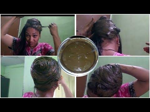 జుట్టుకి henna పెట్టుకోండి ఇలా.easy way to apply henna for long hairs in telugu