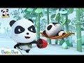 Real Panda And Fake Panda Who Is Real Kids Cartoon Panda Cartoon Babies Videos BabyBus