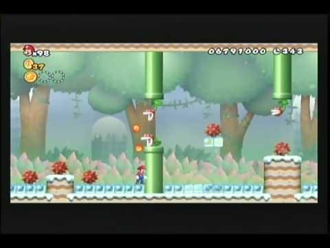 New Super Mario Bros. Wii: World 9-7