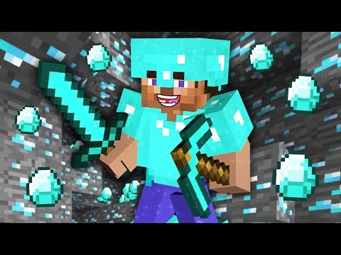 MINECRAFT - HOW TO FIND DIAMONDS FAST!! MINECRAFT w/ MY GIRLFRIEND!! (Minecraft #10)