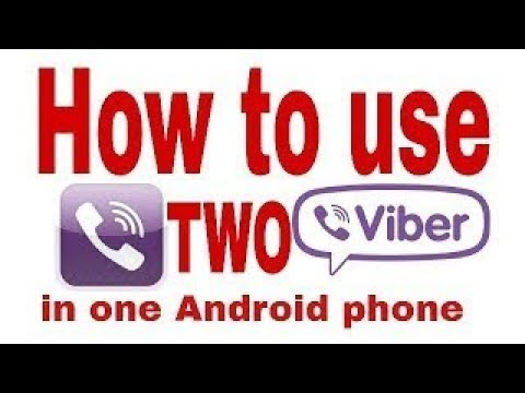 HOW TO USE 2 VIBER IN ONE MOBILE