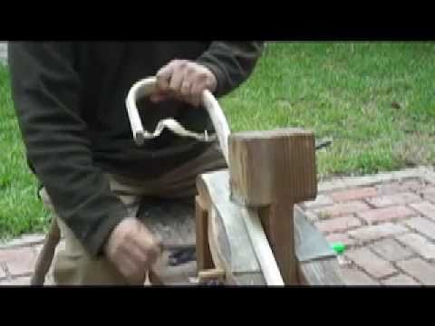 Making an Iroquois Style Lacrosse Stick Part I