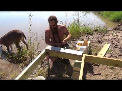 building a pond dock