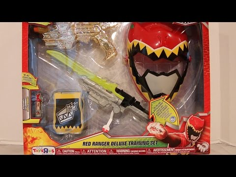 Red Ranger Deluxe Training Set Review [Power Rangers Dino Charge]