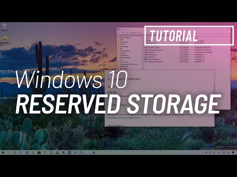 Windows 10 tutorial: enable Reserved Storage