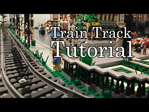 How To Build An Amazing Lego Train Track Layout For A Lego City (tt #13)