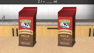 Conversion Of Millilitres And Litres