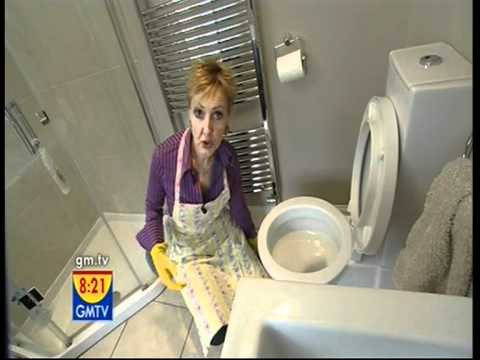 Aggie GMTV cleaning tips