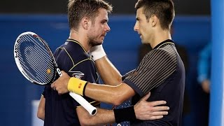 Djokovic & Wawrinka - Unforgettable Trilogy 60 FPS