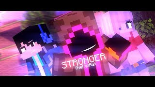 """♪ """" Stronger """" ♪  - TheFatRat (A Minecraft Fight Animation)"""